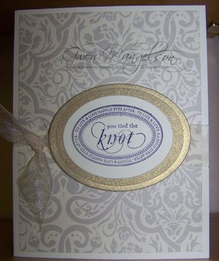 Wedding card front