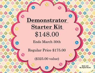 Starter Kit sign f 2011-001