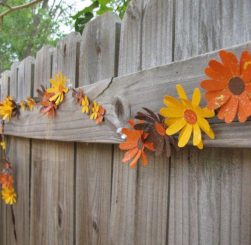 Wall hanging wreath idea