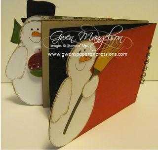 Snowman Book Class 004