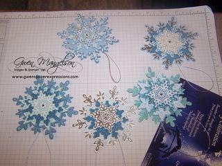 Festive Snowflake class Nov2013 004