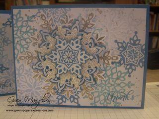 Festive Snowflake class Nov2013 008