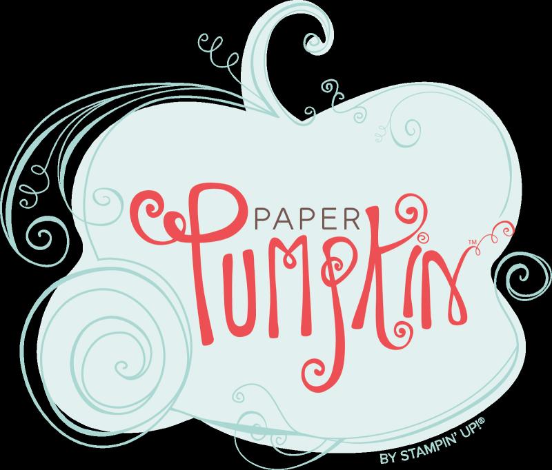 Paper pumpkin logo for blog