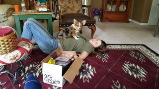 Katie sophie living room