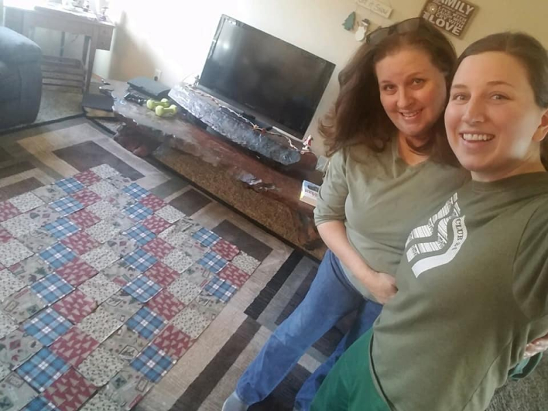Quilting with katie
