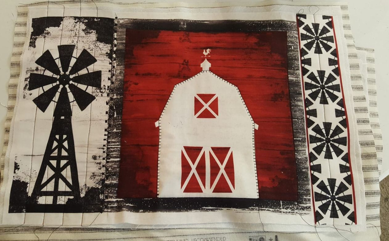 Farmhouse placemats