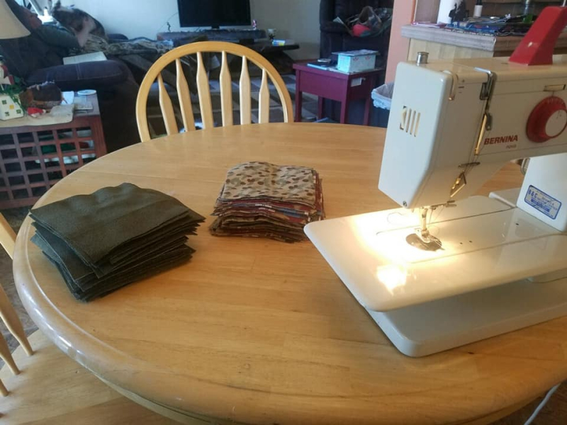 Quilting with katie2