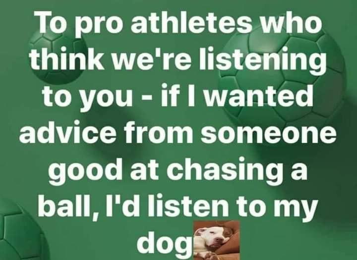 Athletes professionals