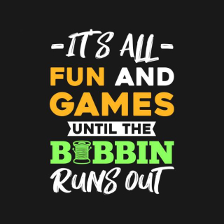 Bobbin runs out